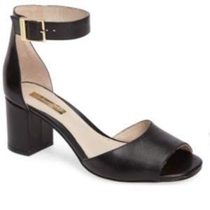 Louise et Cie Karisa leather block heel